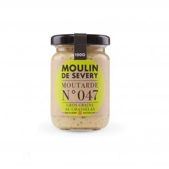 Moutarde Gros-Grains au Chasselas