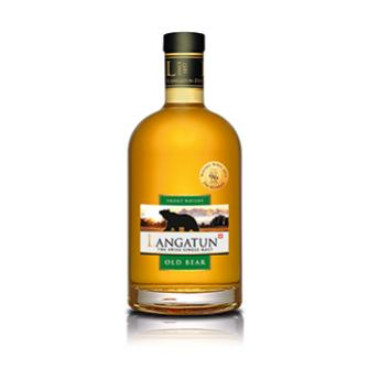 "Whisky Langatun Old Bear Single Malt ""Smoky"", 50cl"